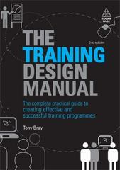 The Training Design Manual 2nd Edition 9780749456252 0749456256