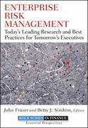 Enterprise Risk Management 1st Edition 9780470564233 0470564237