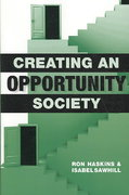 Creating an Opportunity Society 0 9780815703228 0815703228