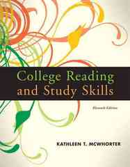 College Reading and Study Skills 11th edition 9780205734955 0205734952