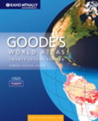 Goode's World Atlas 22nd edition 9780321652003 0321652002