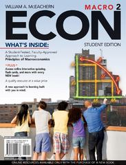 ECON Macro 2 (with Premium Web Site Printed Access Card and Review Cards) 2nd edition 9781439040676 1439040672