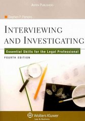 Interviewing and Investigating 4th edition 9780735587359 0735587353