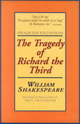 The Tragedy of Richard the Third 1st Edition 9781557834225 1557834229