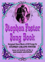 Stephen Foster Song Book 0 9780486230481 0486230481