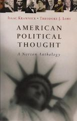 American Political Thought 0 9780393928860 0393928861