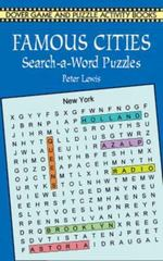 Famous Cities Search-a-Word Puzzles 0 9780486413709 0486413705