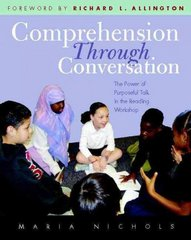 Comprehension Through Conversation 0 9780325007939 0325007934