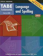 TABE Fundamentals Language and Spelling, Level D 2nd edition 9781419053573 1419053574