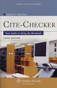 Cite-Checker 4th Edition 9780735587663 0735587663
