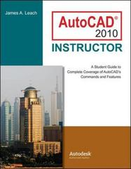 AutoCAD 2010 Instructor 6th edition 9780073375410 0073375411