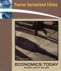 Economics Today 15th edition 9780321601056 032160105X