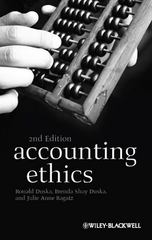 Accounting Ethics 2nd Edition 9781405196130 1405196130