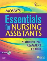 Mosby's Essentials for Nursing Assistants 4th edition 9780323066211 0323066216