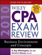 Wiley CPA Exam Review 2010, Business Environment and Concepts 7th edition 9780470453506 0470453508