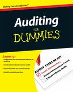 Auditing For Dummies 1st edition 9780470530719 0470530715