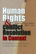 Human Rights and Conflict Resolution in Context 0 9780815632054 0815632053