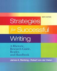 Strategies for Successful Writing 9th edition 9780205689446 0205689442