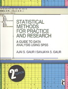 Statistical Methods for Practice and Research 2nd edition 9788132101000 8132101006