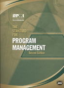The Standard for Program Management 2nd edition 9781933890524 1933890525