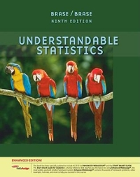 Understandable Statistics, Enhanced Edition (with Enhanced WebAssign 1-Semester Printed Access Card) 9th edition 9781439047798 1439047790