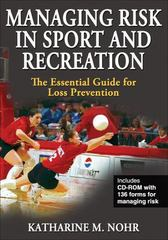 Managing Risk in Sport and Recreation 0 9780736069335 073606933X