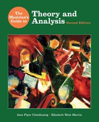 The Musician's Guide to Theory and Analysis 2nd edition 9780393930818 0393930815
