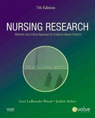 Nursing Research 7th edition 9780323057431 0323057438