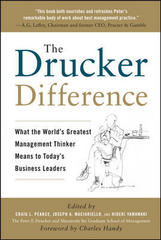 The Drucker Difference: What the World's Greatest Management Thinker Means to Today's Business Leaders 1st edition 9780071638005 0071638008