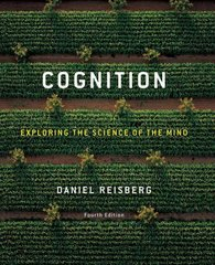Cognition 4th edition 9780393930481 0393930483