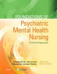 Foundations of Psychiatric Mental Health Nursing 6th edition 9781416066675 1416066675