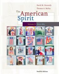 The American Spirit 12th edition 9781111787837 1111787832