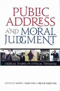 Public Address and Moral Judgment 1st Edition 9780870138683 0870138685