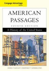 Cengage Advantage Books: American Passages 4th edition 9781111785055 1111785058