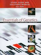 Study Guide and Solutions Manual for Essentials of Genetics 7th Edition 9780321618702 032161870X