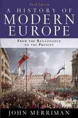 A History of Modern Europe 3rd Edition 9780393934335 0393934330