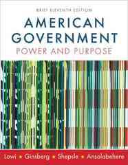 American Government 11th edition 9780393932997 0393932990