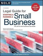 Legal Guide for Starting and Running a Small Business 11th edition 9781413310559 1413310559