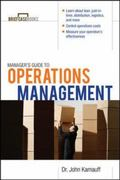 Manager's Guide to Operations Management 1st edition 9780071627993 0071627995