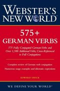Webster's New World 575+ German Verbs 1st edition 9780764599156 0764599151