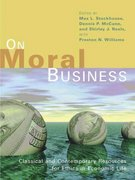 On Moral Business 0 9780802806260 0802806260