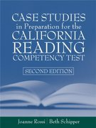 Case Studies in Preparation for the California Reading Competency Test 2nd edition 9780205360154 0205360157