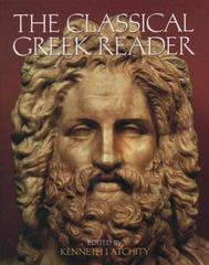 The Classical Greek Reader 0 9780195123036 0195123034