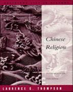 Chinese Religion 5th edition 9780534255367 0534255361