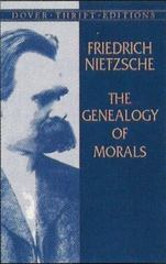 The Genealogy of Morals 0 9780486426914 0486426912