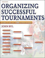 Organizing Successful Tournaments 3rd Edition 9780736059527 0736059520
