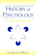 History of Psychology 1st edition 9780805856101 0805856102