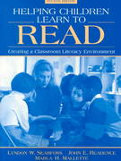 Helping Children Learn to Read 4th edition 9780205270194 0205270190