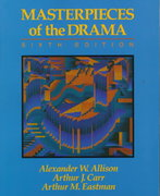 Masterpieces of the Drama 6th edition 9780023019753 0023019751