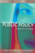 Women and Public Policy: A Revolution In Progress, 3rd Edition 3rd Edition 9781568029269 1568029268